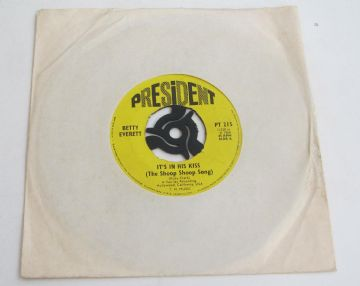 "Betty Everett IT'S IN HIS KISS 1968 UK 7"" NEAR MINT AUDIO"